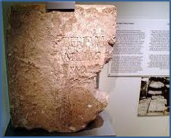 inscrição de pilatos